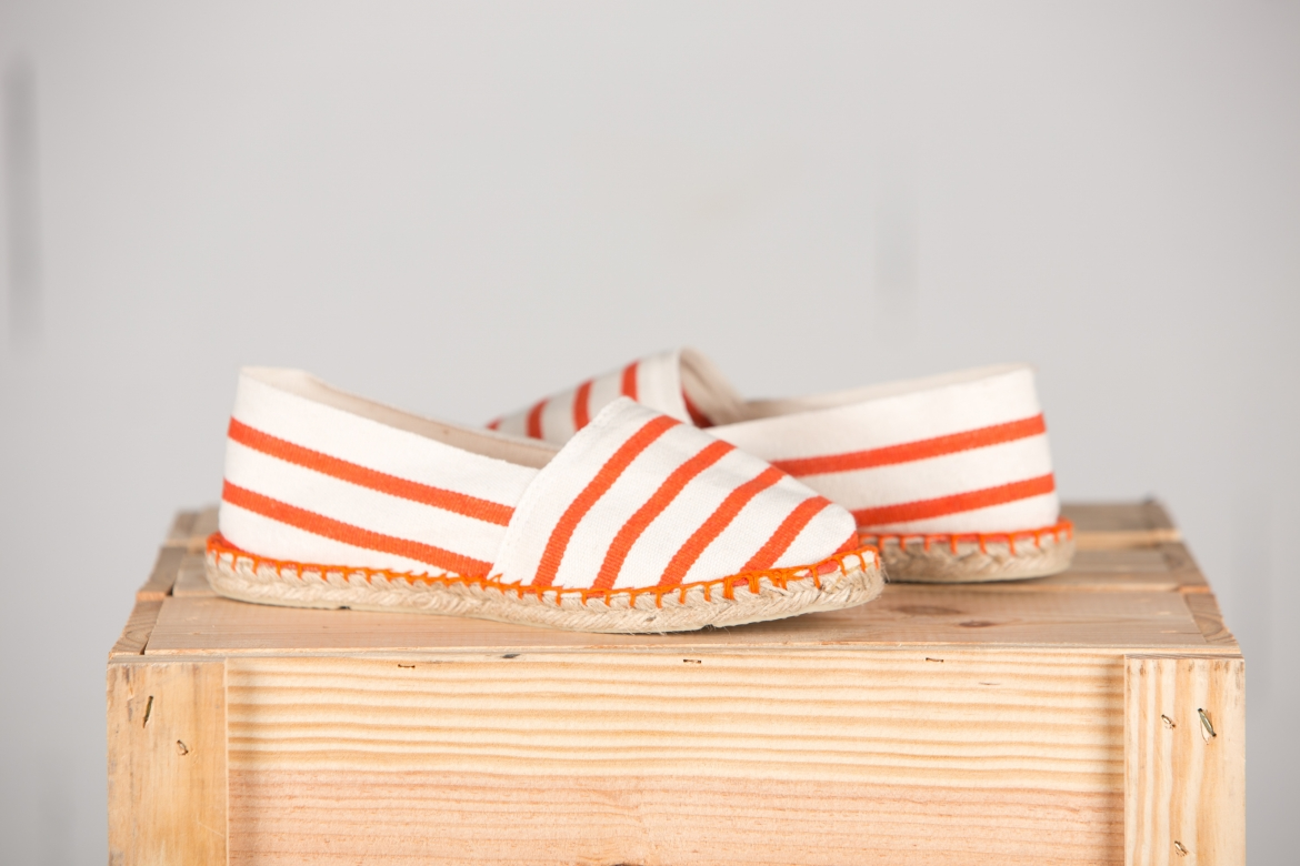 ESPADRILLE MARIN ORANGE