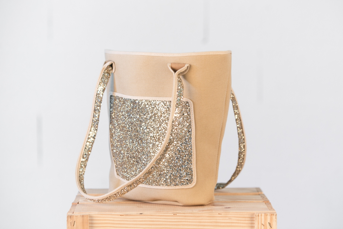 SAC PAILLETTES - OR