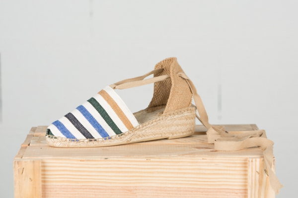 ESPADRILLE A TALON - NATURE
