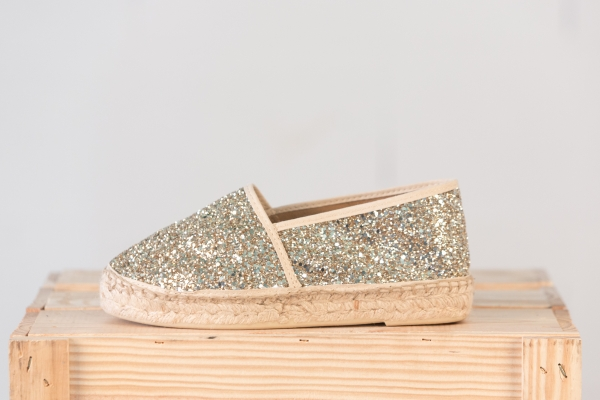 ESPADRILLE DOUBLE SEMELLE - OR