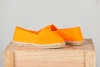 ESPADRILLE ORANGE FLUO